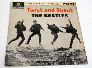 Beatles (The) TWIST AND SHOUT 1963 UK EP 1st Press EX+ AUDIO